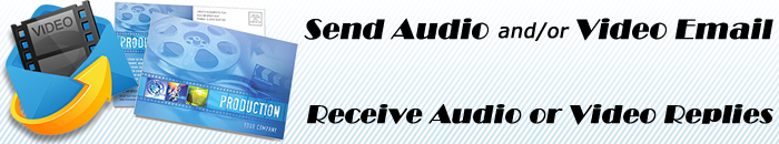 Start your Audio Video Email account today!